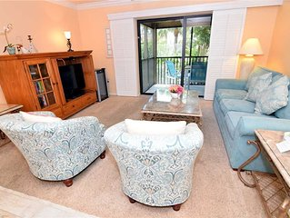 Tropical Garden View 2 bedroom, 2 bath at Sanibel Moorings Resort #612