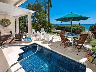Beachfront Townhouse with Plunge Pool - Fathom's End
