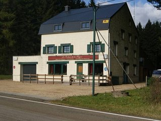Beautiful house for groups on the Ardennes plateau