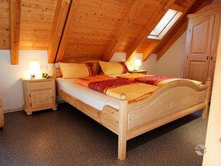 Ferienwohnung Rehblick mit ca. 45qm, 1 -2 Schlafräume, für max. 5 Personen