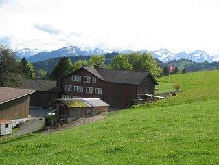 Ferienwohnung Walzenhausen für 6 - 8 Personen mit 3 Schlafzimmern - Bauernhaus