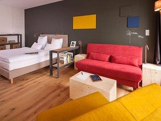 1-Zimmerferienwohnung 'Business' mit ca. 41 qm fur max. 4 Personen