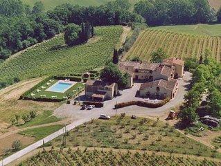 Ferienwohnung San Gimignano fur 2 Personen mit 1 Schlafzimmer - Ferienwohnung in