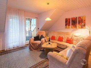 Ferienwohnung 70qm, 2 Schlafzimmer für max. 3 Personen