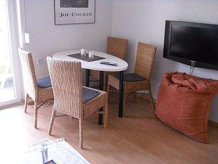 Ferienwohnung 50qm, 2 Schlafzimmer, max. 3 Personen