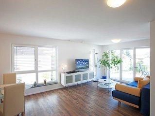 Ferienwohnung 1, 70qm, 1 Schlafzimmer, 1 Wohn-/Schlafzimmer max. 4 Personen
