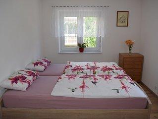Ferienwohnung 80qm, 2 Schlafzimmer, max. 4 Personen