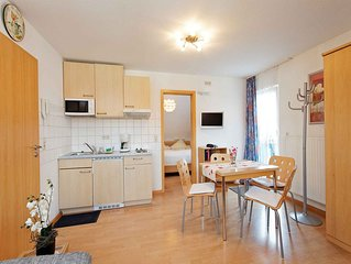 2-Zimmer-Appartement mit 35 qm, 1 Schlafzimmer, fur maximal 4 Personen