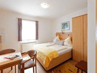 1-Zimmer-Appartement mit 20 qm, fur maximal 2 Personen
