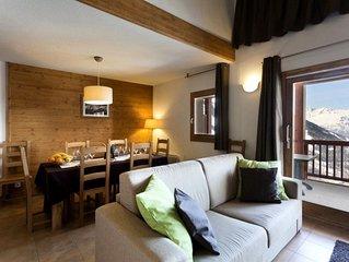 Residence Club MMV L'Etoile des Cimes**** - 3 pieces 6 personnes Confort