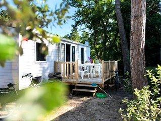 Camping Village Siblu Le Domaine de Kerlann**** - Mobil Home Esprit 3 Pièces 4/6