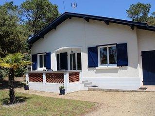 SEIGNOSSE-Océan, villa mitoyenne pour 4 personnes