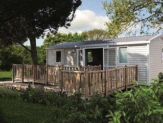 Camping Les Genets**** - Mobil Home 3 Pieces 4 Personnes PMR