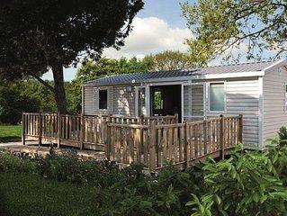 Camping Les Genêts**** - Mobil Home 3 Pièces 4 Personnes PMR