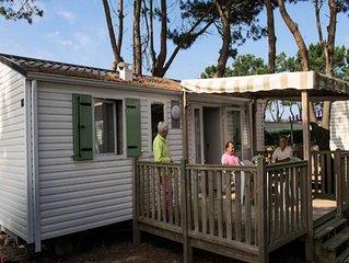 Camping L'Océan***** - Mobil Home Authentique 3 Pièces 4/5 Personnes