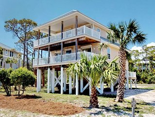 Exceptional pet-friendly Plantation retreat with recent updates. Beach view and