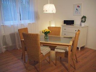Ferienwohnung, 60qm, 1 Schlafzimmer, 1 Wohn-/Schlafraum