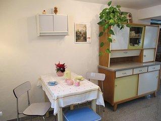 Ferienwohnung 45qm, 1 Schlafzimmer, max. 2 Personen