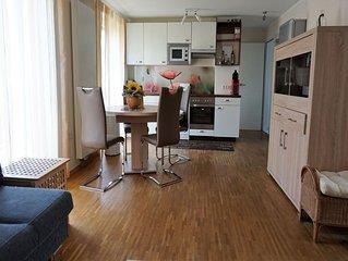 Ferienwohnung 55qm, 1 Wohn-/Schlafzimmer, max. 2 Personen