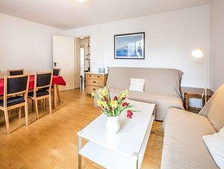Ferienwohnung mit 80qm, 2 Schlafzimmer für max. 6 Personen
