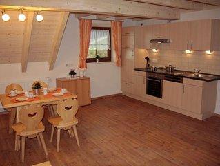 Ferienwohnung Panoramablick, mit ca. 85qm, 2 Schlafzimmer, für maximal 5 Persone
