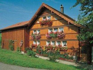 Ferienwohnung Herisau für 1 - 5 Personen mit 2 Schlafzimmern - Bauernhaus