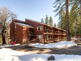 Inside Yosemite National Park, in an area called Yosemite West, Loft Condo A204
