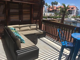 Beautiful Condo on the Marina, just steps to the beach!!
