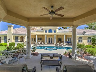 Venetian style 6000sq ft   single story, 10 big beds