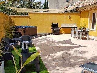 DUPLEX de 115 m2 avec terrasse de 150 m2 avec SPA 6 places