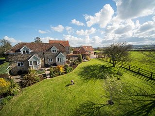 Romantic getaway with stunning views, close to the Jurassic Coast