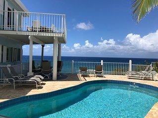 Cane Bay Dream amazing Oceanfront Villa best of Caribbean Living