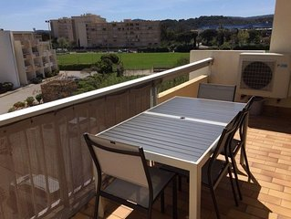 LE LAVANDOU Ormarine Bel appartement T3, climatisé