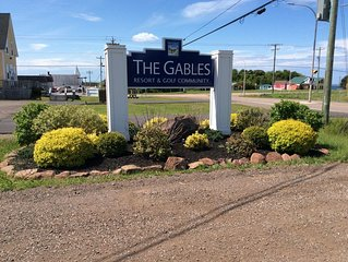 Entrance to The Gables Resort