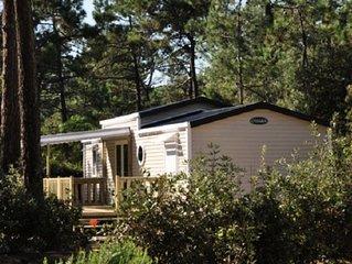 Camping Domaine des Pins**** - Mobil Home 3 Pieces 5 Adultes + 1 Enfant