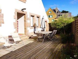 Maison bretonne proche de tout, plage et commerces !