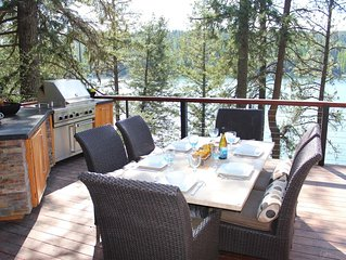 Incredible Waterfront Home on Hayden Lake with private dock