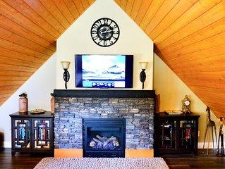 Chalet Style Suite on Peachland Acreage