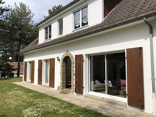 Renovated villa in Hardelot Plage 4 bedrooms