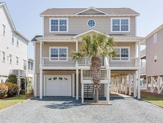 Dock Holiday! A beautiful 5BR/5BA Canal home with great beach access.