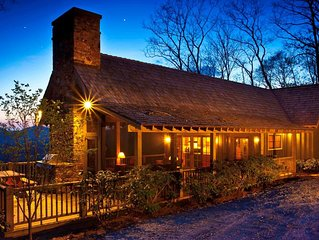 Upscale Cottage with Ultra Privacy and Spectacular View