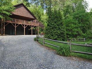 Buckeye Cabin, located in Weaverville, NC