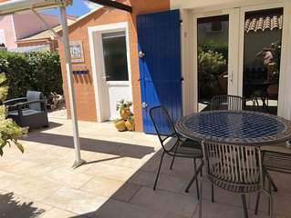 Charming house renovated 4/6 people 6 km away from Argeles Sur Mer.
