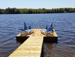 Take a Week Off Your Busy Life, Come Relax On the Dock With a Glass of Wine