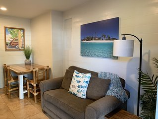 Newly renovated one-bedroom with A/C, Steps to Hukilau Beach, PCC
