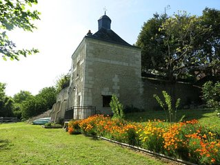 Ferienhaus Le Pigeonnier (CTU200) in Chissay-en-Touraine - 3 Personen, 1 Schlafz