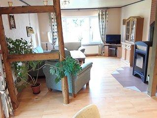 schöne größzügige Wohnung nahe am Wald gelegen, Haustiere und Kinder Willkommen