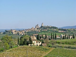 Vacation home Casa La Stellina  in San Gimignano, Siena and surroundings - 6 pe