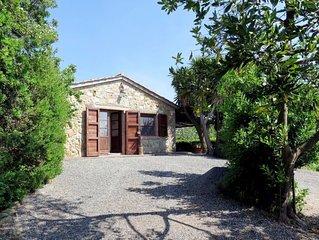 Ferienhaus Rustico Il Campo (CMT250) in Casale Marittimo - 4 Personen, 1 Schlafz