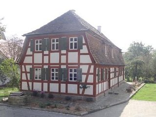 Ferienwohnung Bad Windsheim für 2 - 6 Personen mit 3 Schlafzimmern - Bauernhaus